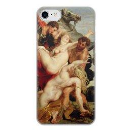 """Чехол для iPhone 8, объёмная печать """"Похищение дочерей Левкиппа (картина Рубенса)"""" - картина, рубенс"""
