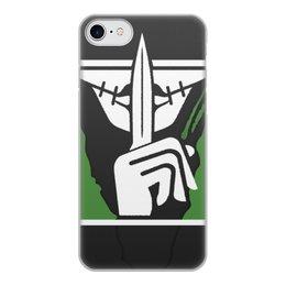 """Чехол для iPhone 8, объёмная печать """"Caveira"""" - радуга, rainbow six siege, tom clancys rainbow six siege, р6, кавейра"""