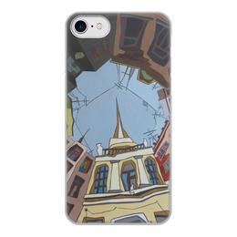 """Чехол для iPhone 8, объёмная печать """"Двор-колодец"""" - piter, dvor-kolodec, shigaeva"""