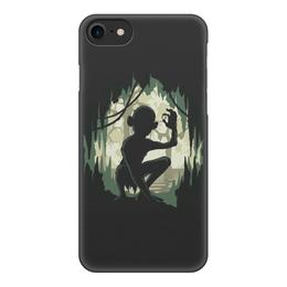 """Чехол для iPhone 8, объёмная печать """"Моя прелесть (Властелин колец)"""" - властелин колец, голлум, шмыга, gollum"""