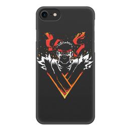 """Чехол для iPhone 8, объёмная печать """"Street Fighter"""" - уличный боец, street fighter"""