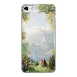 "Чехол для iPhone 8, объёмная печать ""Дворец грёз (Томас Эдвин Мостин)"" - картина, живопись, мостин, романтизм"