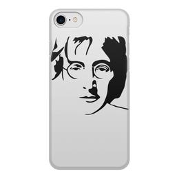 "Чехол для iPhone 8, объёмная печать ""Джон Леннон"" - звезда, битлз, кумир, легенда, леннон"
