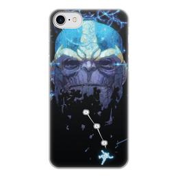 """Чехол для iPhone 8, объёмная печать """"Танос"""" - марвел, комиксы, мстители, thanos, comics"""