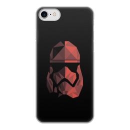 """Чехол для iPhone 8, объёмная печать """"Красный штурмофик"""" - star wars, штурмовик, стар варс, звёздные воины, старварс"""