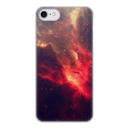 """Чехол для iPhone 8, объёмная печать """"К звездам!"""" - звезды, космос, наука, астрономия, the spaceway"""