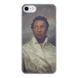 """Чехол для iPhone 8, объёмная печать """"Айра Олдридж в образе Отелло"""" - картина, живопись, шекспир, театр, норткот"""