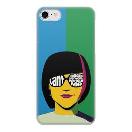 "Чехол для iPhone 8, объёмная печать ""Girly girl"" - девушка, girl, женщина, пинап, girly"