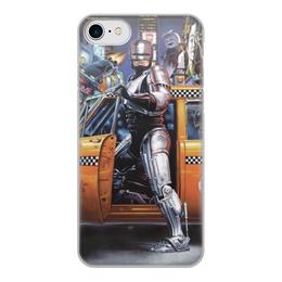 """Чехол для iPhone 8, объёмная печать """"Робокоп """"Robocop"""" """" - фильм, робокоп, 80е"""