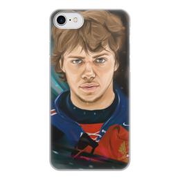 """Чехол для iPhone 8, объёмная печать """"Артемий Панарин"""" - хоккей, нхл, сборная россия по хоккею, артемий панарин"""