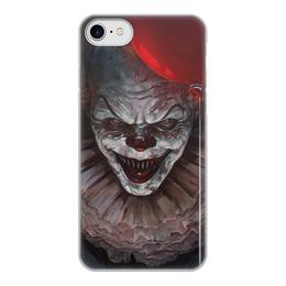 """Чехол для iPhone 8, объёмная печать """"Оно  """" - it, stephen king, оно, стивен кинг"""