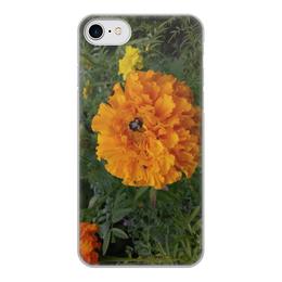 """Чехол для iPhone 8, объёмная печать """"Удивительный Алтай"""" - долина цветов, цветущая долина, цветы, алтай, горный алтай"""