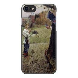 """Чехол для iPhone 8, объёмная печать """"Видение отроку Варфоломею"""" - картина, нестеров, живопись"""