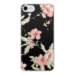 """Чехол для iPhone 8, объёмная печать """"Любимой женщине"""" - день матери, 8 марта, цветы"""