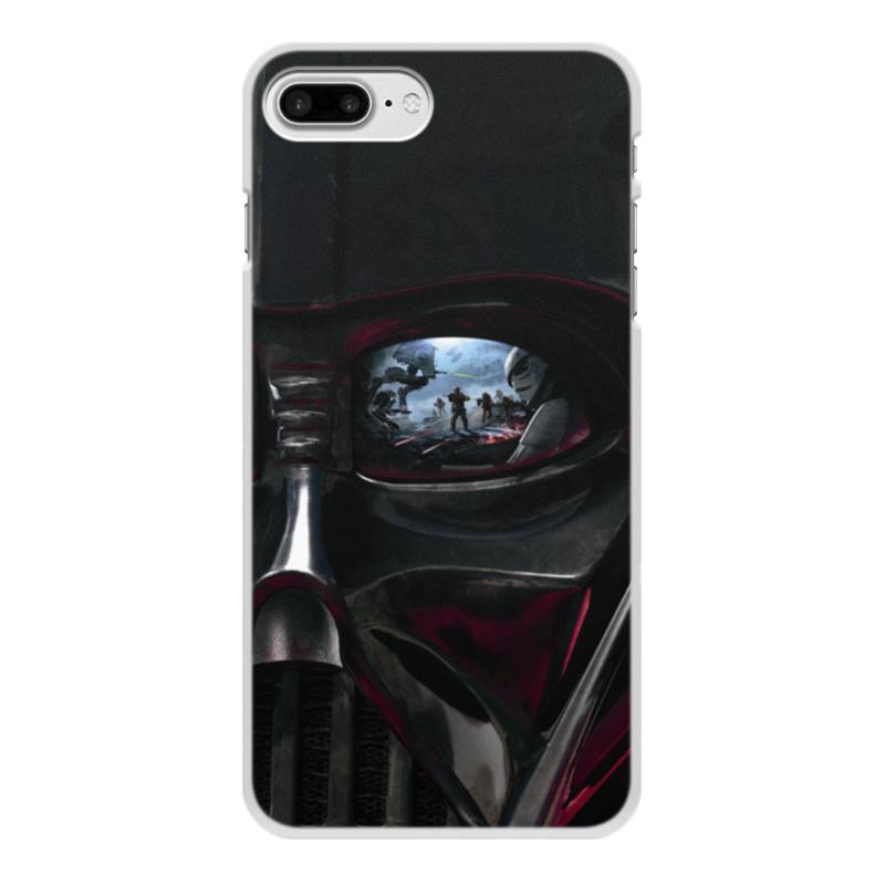Чехол для iPhone 8 Plus, объёмная печать Printio Звездные войны чехол для iphone 8 plus объёмная печать printio футбол