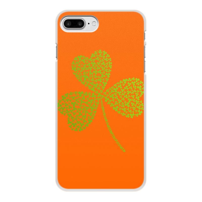 Чехол для iPhone 8 Plus, объёмная печать Printio Без названия цена