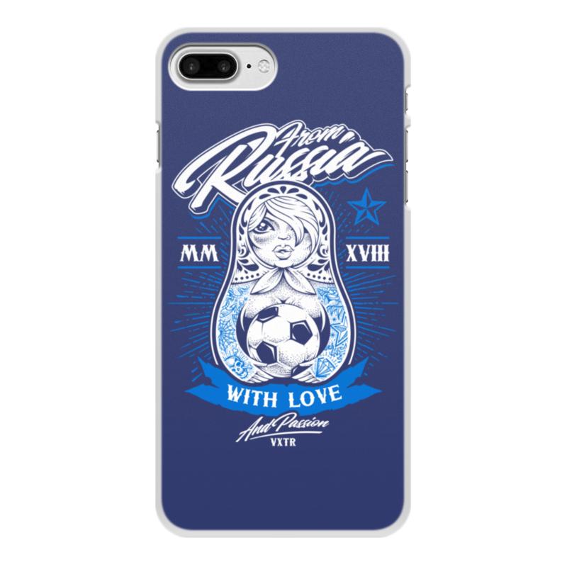 Чехол для iPhone 8 Plus, объёмная печать Printio Футбол чехол для iphone 8 plus объёмная печать printio футбол