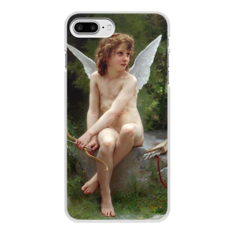 Чехол для iPhone 8 Plus, объёмная печать Printio Подстерегающая любовь (вильям бугро) чехол для iphone 6 глянцевый printio купальщица вильям бугро