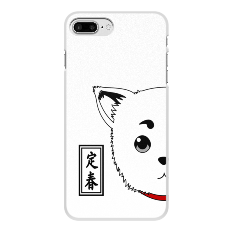 Фото - Чехол для iPhone 8 Plus, объёмная печать Printio Гинтама. садахару чехол для iphone 5 глянцевый с полной запечаткой printio deadpool vs punisher