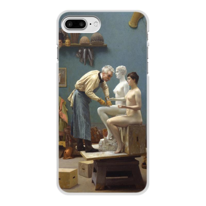 Printio Модель скульптора (жан-леон жером) чехол для iphone 4 глянцевый с полной запечаткой printio рождение венеры жан леон жером
