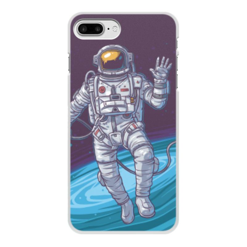 Чехол для iPhone 8 Plus, объёмная печать Printio Space чехол для iphone 5 printio my space