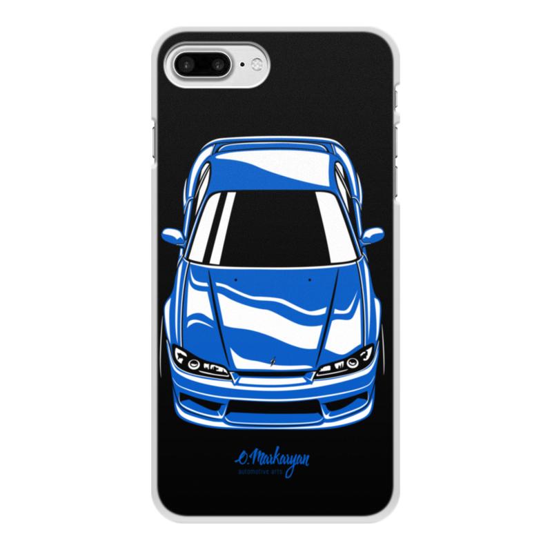 лучшая цена Чехол для iPhone 8 Plus, объёмная печать Printio Silvia s15