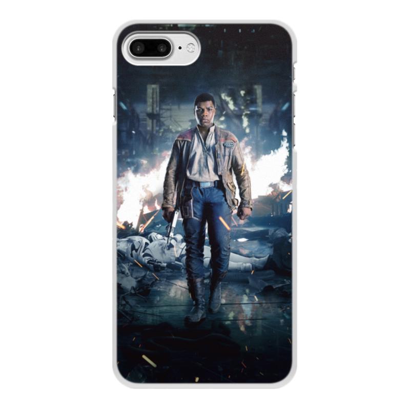 Чехол для iPhone 8 Plus, объёмная печать Printio Звездные войны - финн чехол для iphone 8 plus объёмная печать printio звездные войны йода