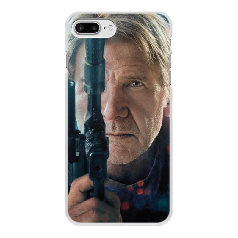Чехол для iPhone 8 Plus, объёмная печать Printio Звездные войны - хан соло цена
