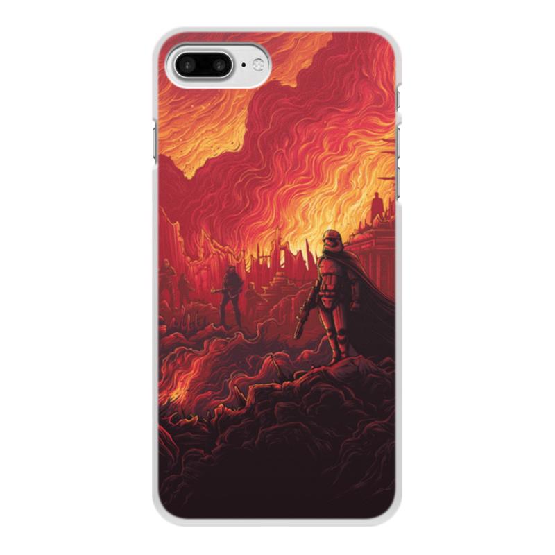 Чехол для iPhone 8 Plus, объёмная печать Printio Звездные войны чехол для iphone 8 plus объёмная печать printio звездные войны йода