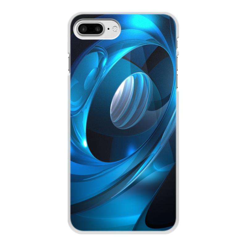 Чехол для iPhone 8 Plus, объёмная печать Printio Абстракция чехол для iphone interstep для iphone x soft t metal adv красный