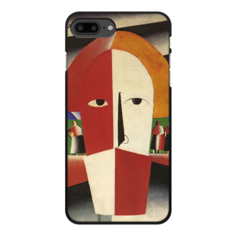 Чехол для iPhone 8 Plus, объёмная печать Printio Голова крестьянина (казимир малевич)