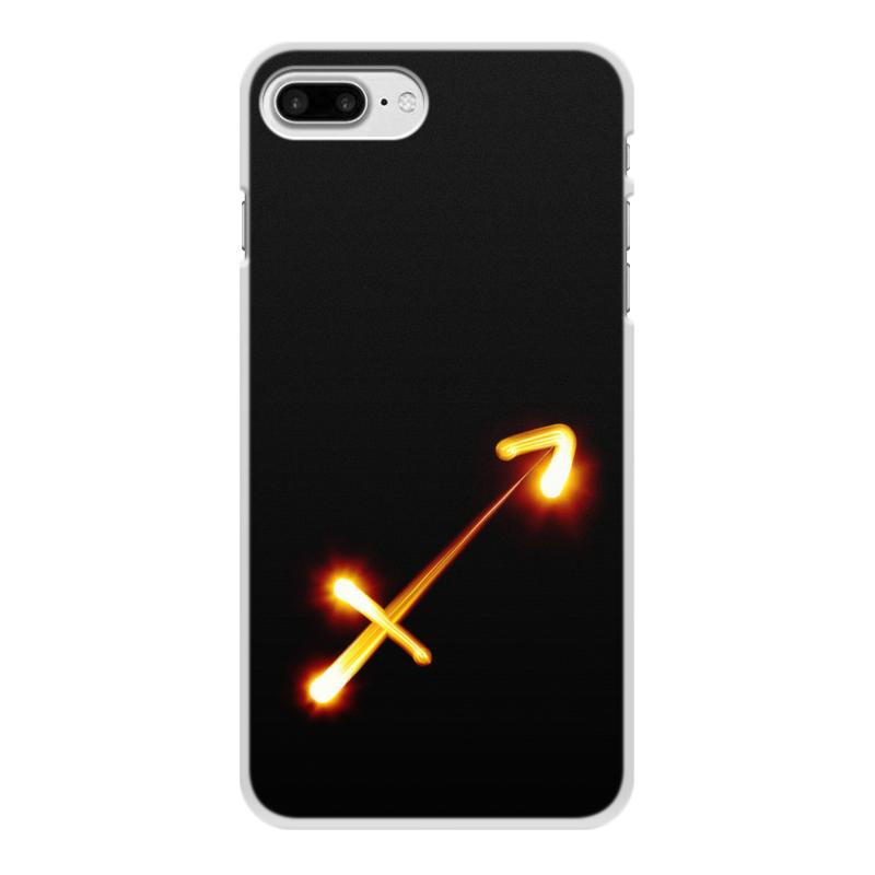 Фото - Чехол для iPhone 8 Plus, объёмная печать Printio Стрельцу (22.11-21.12) чехол для iphone 5 глянцевый с полной запечаткой printio deadpool vs punisher