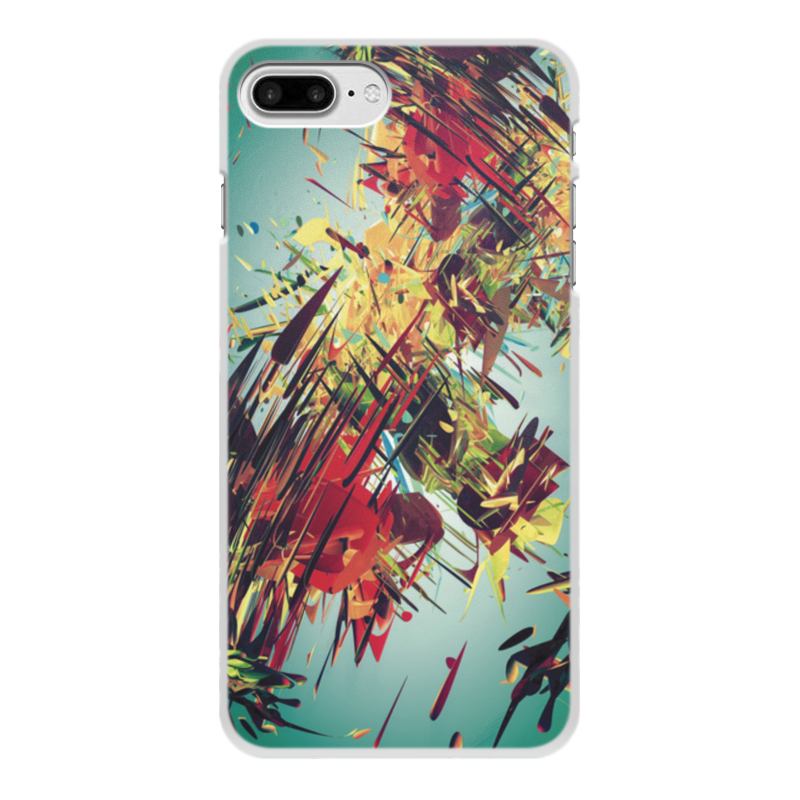 Чехол для iPhone 8 Plus, объёмная печать Printio Абстракция чехол для iphone 8 объёмная печать printio разноцветная абстракция