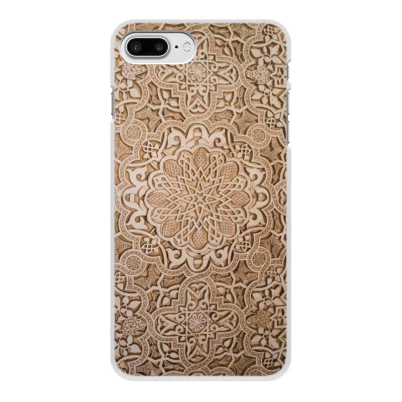 Чехол для iPhone 8 Plus, объёмная печать Printio Узоры цена