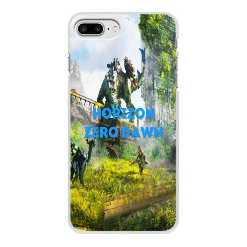 Чехол для iPhone 8 Plus, объёмная печать Printio Horizon zero dawn jyss белый iphone 77 plus