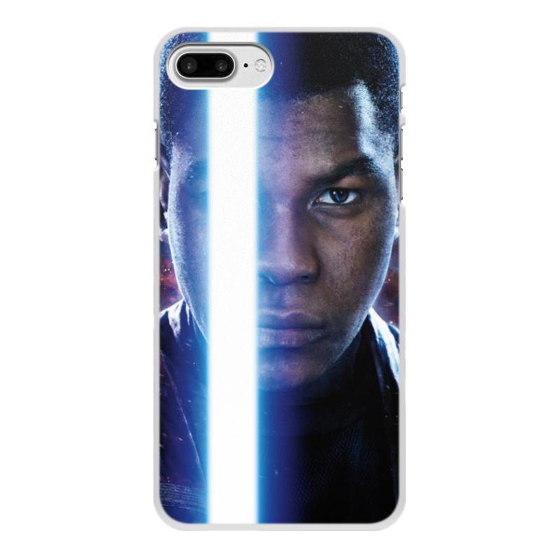 Чехол для iPhone 8 Plus, объёмная печать Printio Звездные войны - финн чехол для iphone 8 plus объёмная печать printio футбол