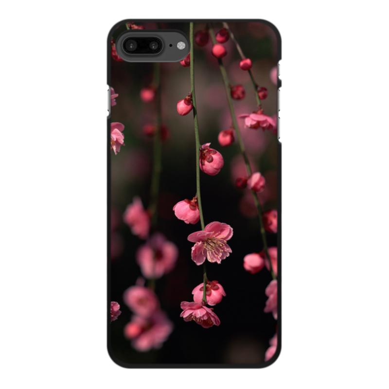 Чехол для iPhone 8 Plus, объёмная печать Printio Цветы чехол для iphone 8 объёмная печать printio hans zatzka