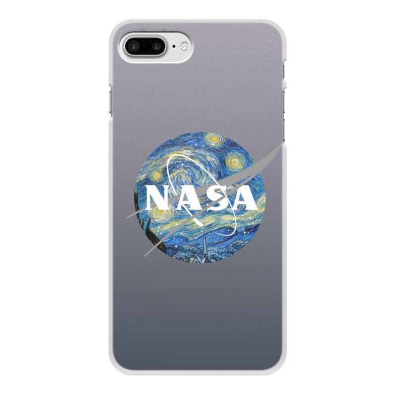 Чехол для iPhone 8 Plus, объёмная печать Printio /nasa чехол для iphone 8 объёмная печать printio буря красок