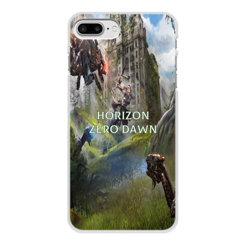 Чехол для iPhone 8 Plus, объёмная печать Printio Horizon zero dawn цена и фото