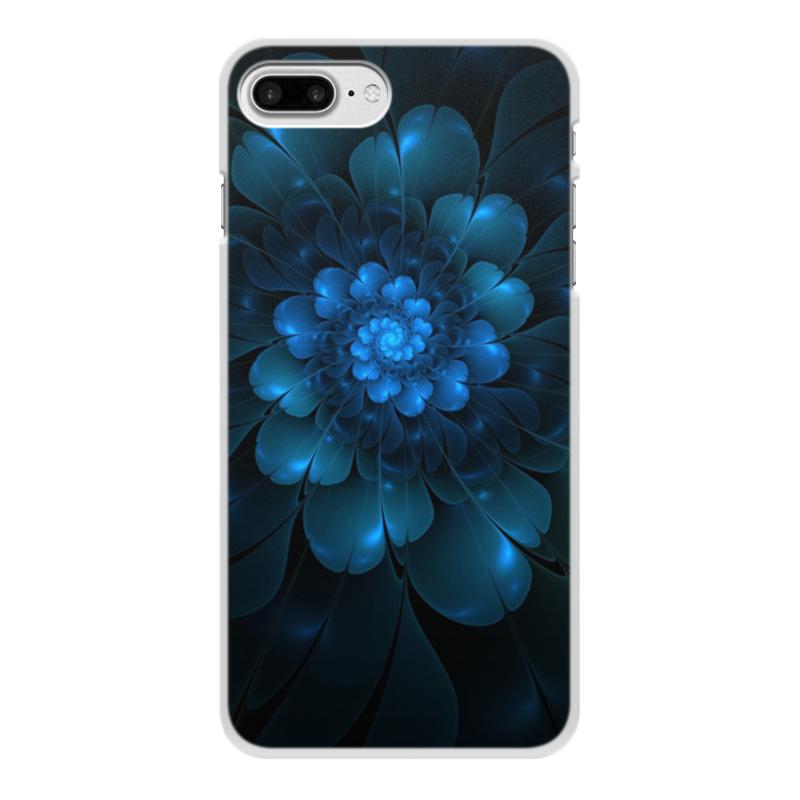 Чехол для iPhone 8 Plus, объёмная печать Printio Абстракция чехол для iphone 8 объёмная печать printio буря красок