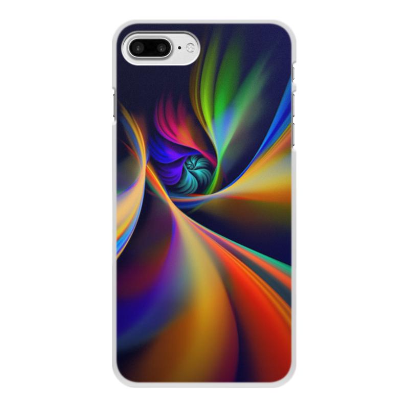 Чехол для iPhone 8 Plus, объёмная печать Printio Абстракция чехол для iphone 7 глянцевый printio альтрон мстители