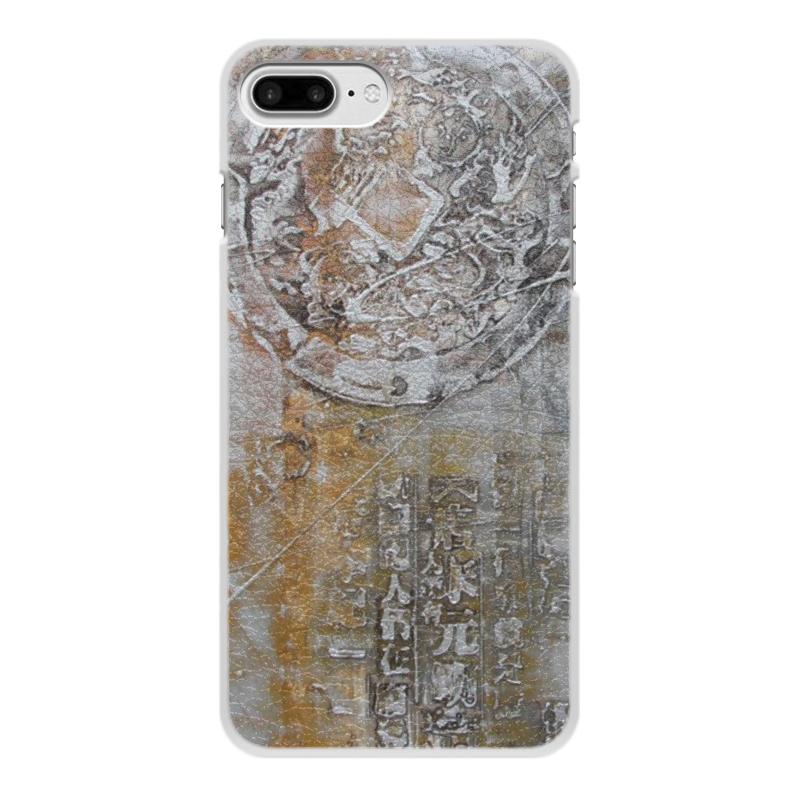 Чехол для iPhone 8 Plus, объёмная печать Printio Знаки умные часы apple watch series 3 42mm grey space with grey sport band mr362ru a