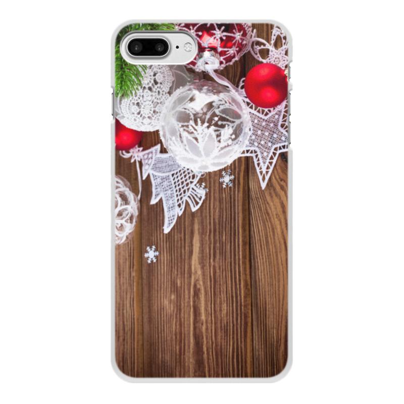 Чехол для iPhone 8 Plus, объёмная печать Printio Новый год