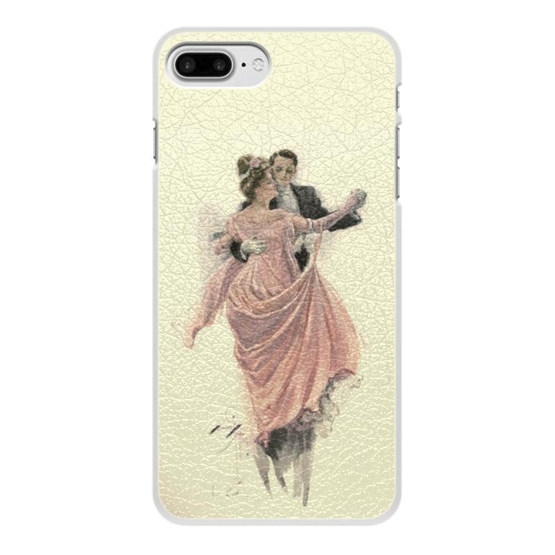 Чехол для iPhone 8 Plus, объёмная печать Printio День святого валентина цена и фото