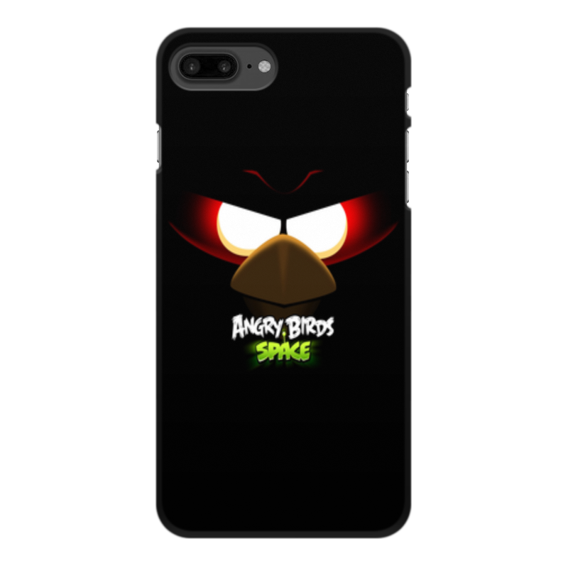 Чехол для iPhone 8 Plus, объёмная печать Printio Space (angry birds) чехол для iphone 4 4s angry birds 1 401