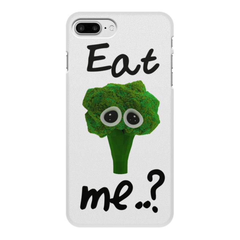 Чехол для iPhone 8 Plus, объёмная печать Printio Eat me..? цена и фото