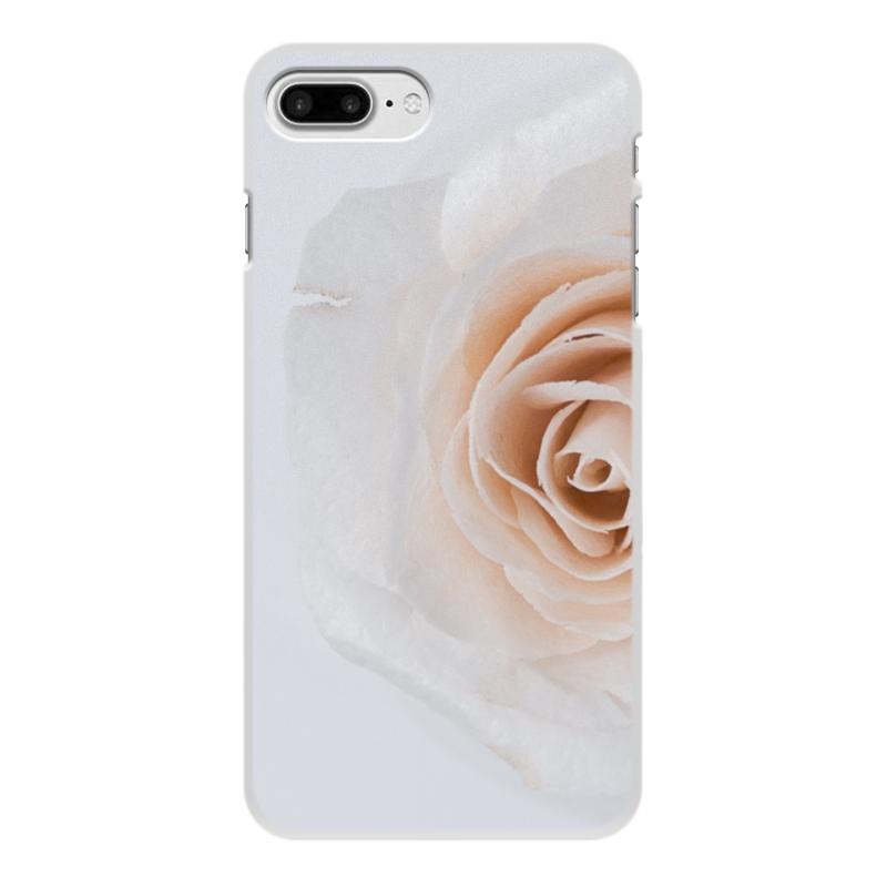 Чехол для iPhone 8 Plus, объёмная печать Printio Цветок роза чехол для iphone 7 plus объёмная печать printio золотая роза