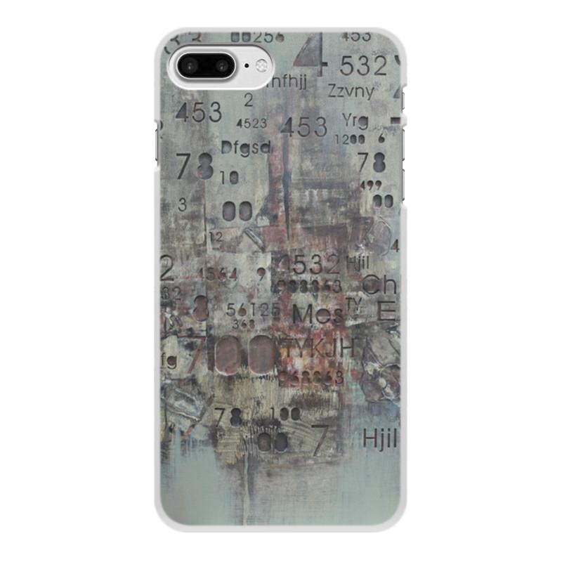 Чехол для iPhone 8 Plus, объёмная печать Printio Цифры