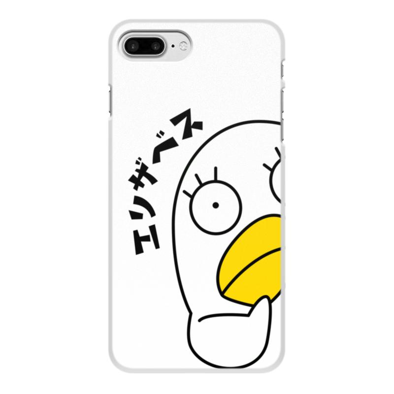 лучшая цена Чехол для iPhone 8 Plus, объёмная печать Printio Гинтама. элизабет