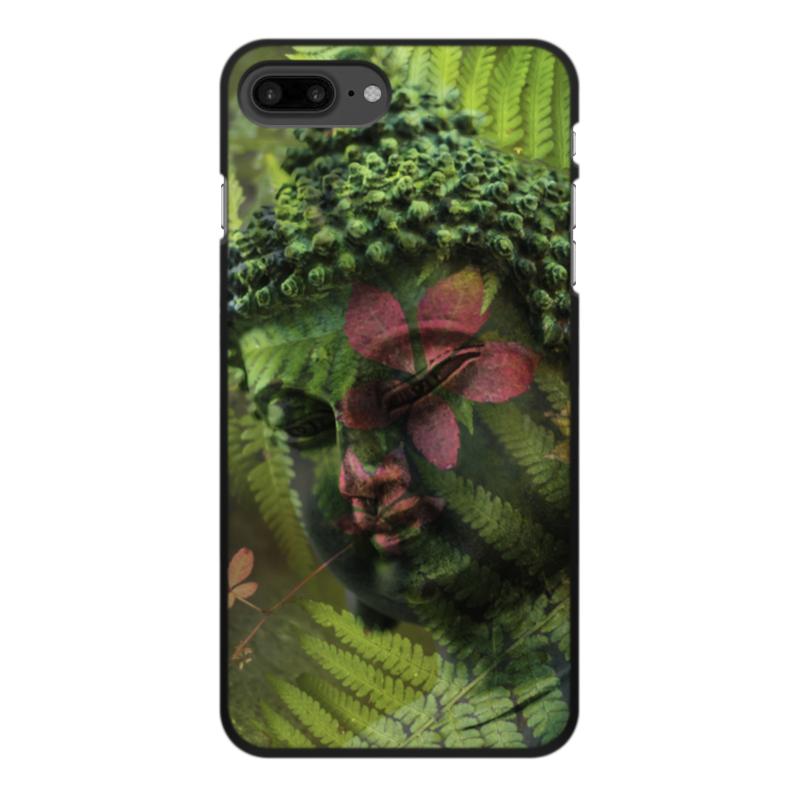 Чехол для iPhone 8 Plus, объёмная печать Printio Будда цена и фото